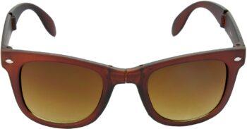 Air Strike Brown Lens Brown Frame Rectangular Stylish For Sunglasses Men Women Boys Girls - extra