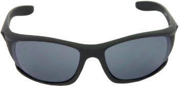 Air Strike Grey Lens Black Frame Sports Sunglass Stylish For Sunglasses Men Women Boys Girls - extra