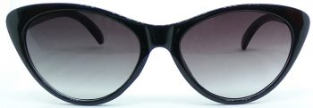 Air Strike Grey Lens Black Frame Cat-eye Sunglass Stylish For Sunglasses Women & Girls - extra