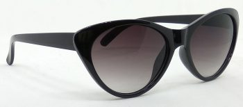 Air Strike Grey Lens Black Frame Cat-eye Sunglass Stylish For Sunglasses Women & Girls