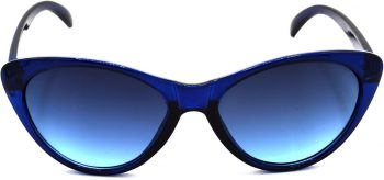 Air Strike Blue Lens Blue Frame Cat-eye Sunglass Stylish For Sunglasses Women & Girls - extra