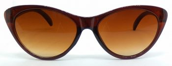 Air Strike Clear Lens Brown Frame Cat-eye Sunglass Stylish For Sunglasses Women & Girls - extra