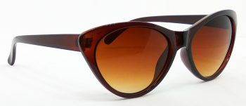 Air Strike Clear Lens Brown Frame Cat-eye Sunglass Stylish For Sunglasses Women & Girls