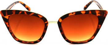 Air Strike Brown Lens Brown Frame Cat-eye Sunglass Stylish For Sunglasses Women & Girls - extra