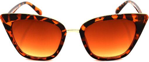 Air Strike Brown Lens Brown Frame Cat-eye Sunglass Stylish For Sunglasses Women & Girls - extra