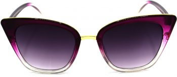 Air Strike Grey Lens Violet Frame Cat-eye Sunglass Stylish For Sunglasses Women & Girls - extra