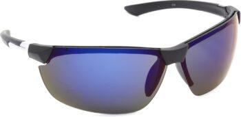 Air Strike Blue Lens Silver Frame Sports Sunglass Stylish For Sunglasses Men Women Boys Girls