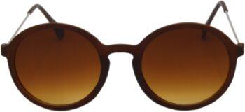 Air Strike Brown Lens Black Frame Oval Sunglass Stylish For Sunglasses Men Women Boys Girls - extra