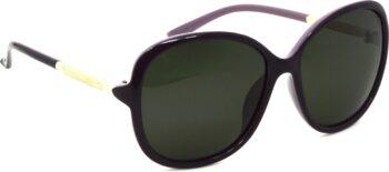 Air Strike Green Lens Multicolor Frame Oval Sunglass Stylish Sunglasses For Women & Girls