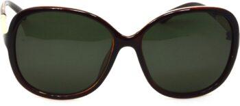 Air Strike Green Lens Multicolor Frame Oval Sunglass Stylish Sunglasses For Women & Girls - extra
