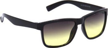 Air Strike Yellow Lens Yellow Frame Rectangular Sunglass Stylish For Sunglasses Men Women Boys Girls
