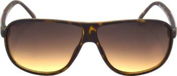 Air Strike Brown Lens Brown Frame Over-sized Sunglass Stylish For Sunglasses Men Women Boys Girls - extra