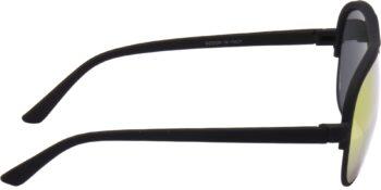 Air Strike Golden Lens Black Frame Clubmaster Stylish For Sunglasses Men Women Boys Girls - extra 3