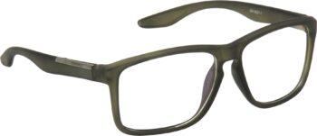 Air Strike Clear Lens Grey Frame Retro Square Sunglass Stylish For Sunglasses Men Women Boys Girls