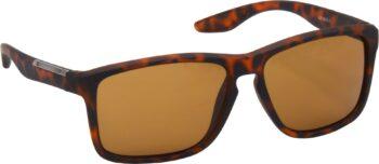 Air Strike Brown Lens Brown Frame Retro Square Sunglass Stylish For Sunglasses Men Women Boys Girls