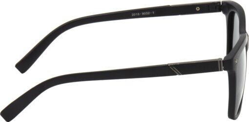 Air Strike Black Lens Black Frame Rectangular Stylish Polarized Sunglasses For Women & Girls - extra 1