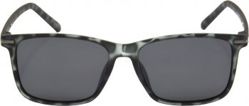 Air Strike Clear Lens Grey Frame Retro Square Sunglass Stylish Polarized Sunglasses For Women & Girls - extra