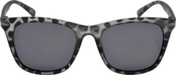 Air Strike Black Lens Grey Frame Rectangular Stylish Polarized Sunglasses For Women & Girls - extra