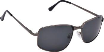 Air Strike Black Lens Grey Frame Wrap-around Sunglass Stylish For Sunglasses Men Women Boys Girls