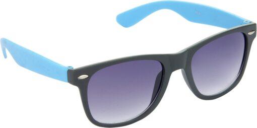 Air Strike Grey Lens Black Frame Rectangular Stylish For Sunglasses Men Women Boys Girls - extra 3
