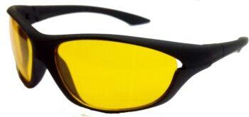 Air Strike Yellow Lens Silver Frame Sports Sunglass Stylish Sunglasses For Men Women Boys Girls - extra