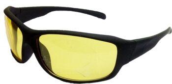 Air Strike Yellow Lens Black Frame Sports Sunglass Stylish For Sunglasses Men Women Boys Girls - extra