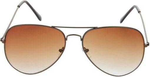 Air Strike Brown Lens Brown Frame Pilot Stylish Sunglasses For Men Women Boys Girls - extra 1
