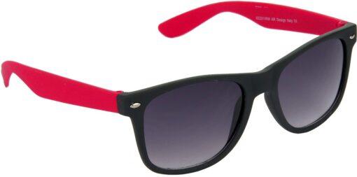 Air Strike Grey Lens Brown Frame Rectangular Stylish Sunglasses For Men Women Boys Girls - extra