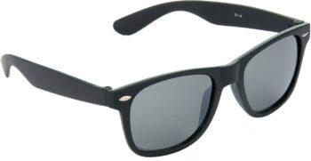 Air Strike Grey Lens Black Frame Rectangular Stylish Sunglasses For Men Women Boys Girls - extra 2