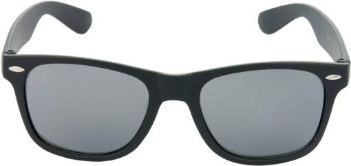 Air Strike Grey Lens Black Frame Rectangular Stylish Sunglasses For Men Women Boys Girls - extra 4