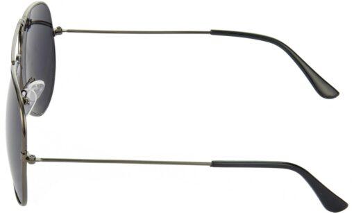 Air Strike Black Lens Gray Frame Pilot Stylish For Sunglasses Men Women Boys Girls - extra 1