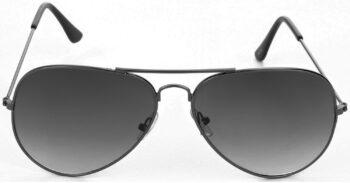 Air Strike Grey Lens Gray Frame Pilot Stylish For Sunglasses Men Women Boys Girls - extra
