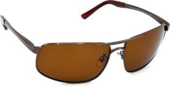 Air Strike Brown Lens Brown Frame Wrap-around Sunglass Stylish Sunglasses For Men Women Boys Girls
