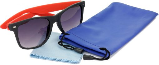 Air Strike Grey Lens Red Frame Rectangular Stylish For Sunglasses Men Women Boys Girls - extra 2