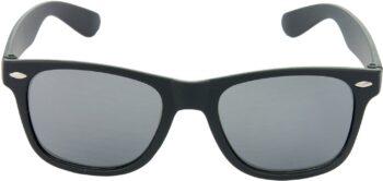 Air Strike Black Lens Dark Black Frame Rectangular Stylish For Sunglasses Men Women Boys Girls - extra