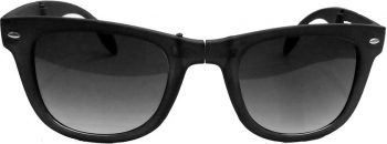 Air Strike Black Lens Black Frame Rectangular Stylish For Sunglasses Men Women Boys Girls - extra