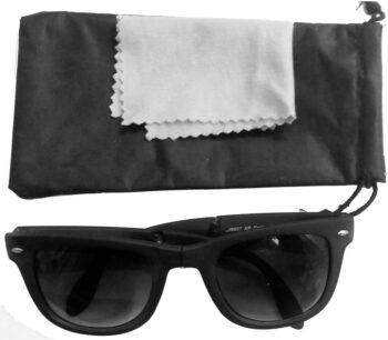 Air Strike Black Lens Black Frame Rectangular Stylish For Sunglasses Men Women Boys Girls - extra 1
