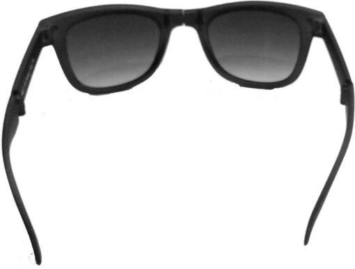 Air Strike Black Lens Black Frame Rectangular Stylish For Sunglasses Men Women Boys Girls - extra 2